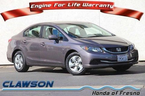 Certified Pre-Owned 2015 Honda Civic 4dr CVT LX FWD 4dr Car