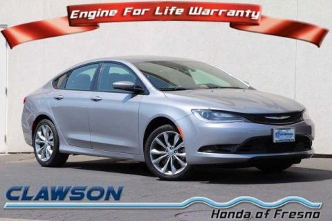 Pre-Owned 2015 Chrysler 200 4dr Sdn S FWD FWD 4dr Car