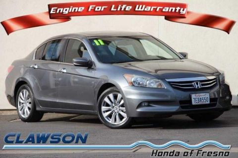Pre-Owned 2011 Honda Accord 4dr V6 Auto EX-L FWD 4dr Car