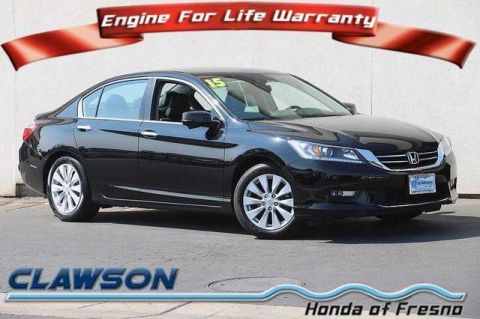 Pre-Owned 2015 Honda Accord EX-L FWD 4dr Car