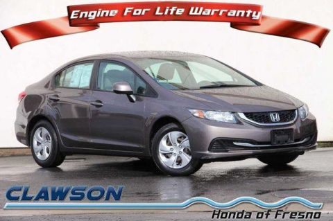 Pre-Owned 2013 Honda Civic 4dr Auto LX FWD 4dr Car