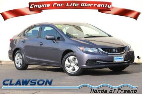 Pre-Owned 2015 Honda Civic 4dr CVT LX FWD 4dr Car