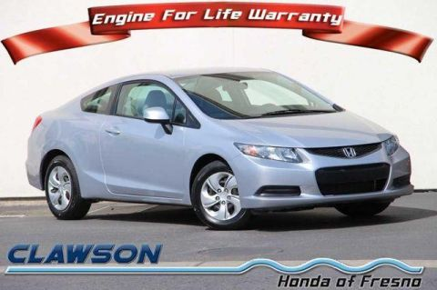 Pre-Owned 2013 Honda Civic 2dr Auto LX FWD 2dr Car