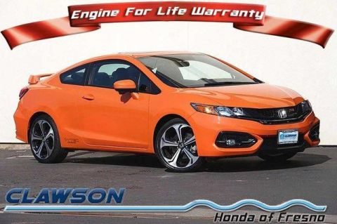 Pre-Owned 2015 Honda Civic 2dr Man Si FWD 2dr Car